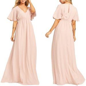 SMYM | Emily Maxi Dress Dusty Blush Size 1X